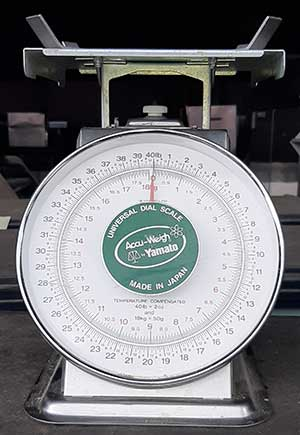 Yamato Accu-weigh Scales